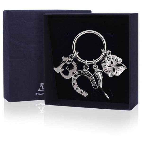 """Брелок для ключей """"На счастье"""", арт.: 300БР15001"""