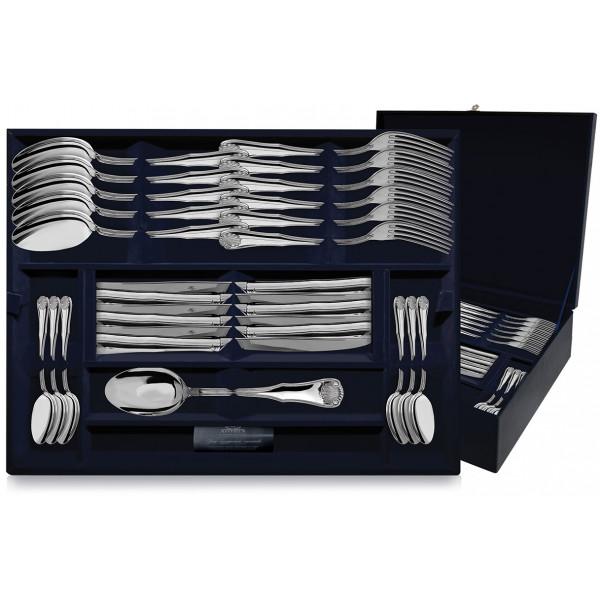 """Набор столовых приборов """"Визит"""", 48 предметов (вилки, ножи, ложки столовые, чайные), арт.: 730НБ01801"""