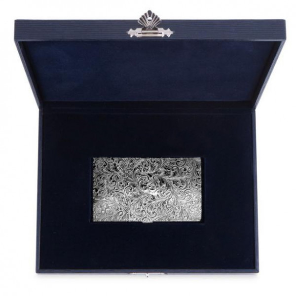 Визитница серебряная, арт.: 2192