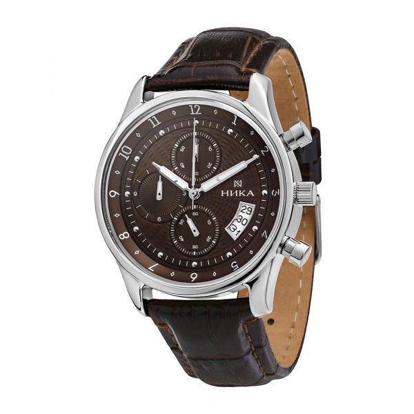 Мужские серебряные часы GENTLEMAN Арт.: 1876.0.9.62C