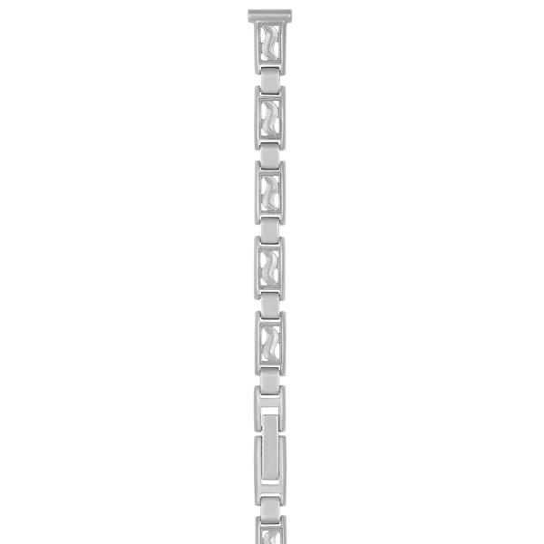 Серебряный браслет для часов (8 мм) Арт.: 0105021
