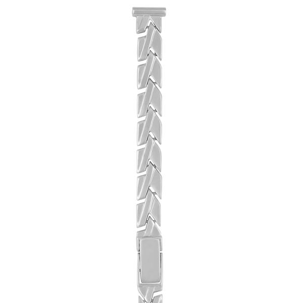 Серебряный браслет для часов (10 мм) Арт.: 0201052