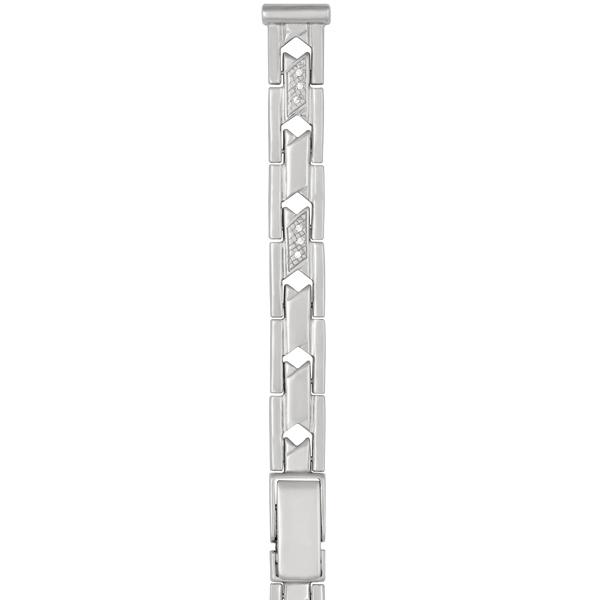 Серебряный браслет для часов (10 мм) Арт.: 026241