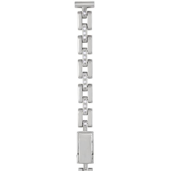 Серебряный браслет для часов (10 мм) Арт.: 026582