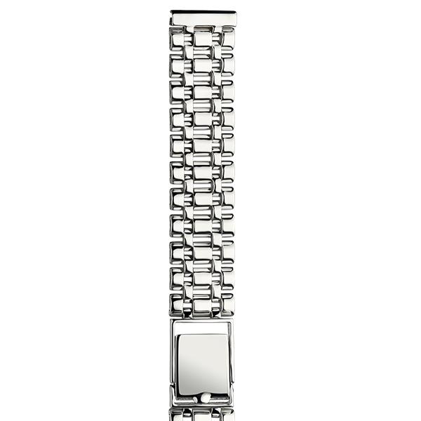 Серебряный браслет для часов (14 мм) Арт.: 040407