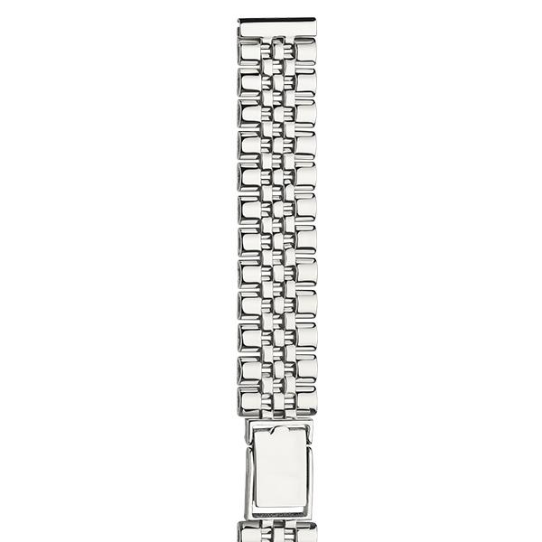 Серебряный браслет для часов (14 мм) Арт.: 040408