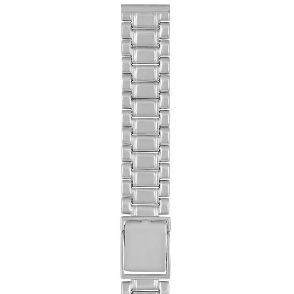 Серебряный браслет для часов (18 мм) Арт.: 042015.18