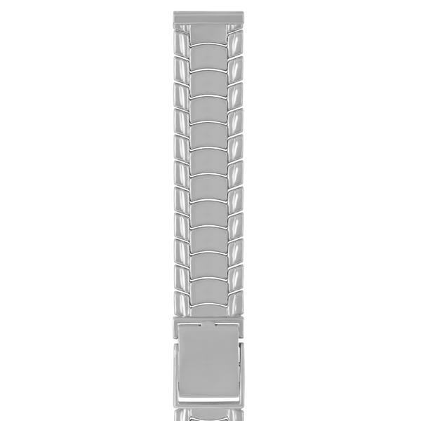 Серебряный браслет для часов (18 мм) Арт.: 042019.18