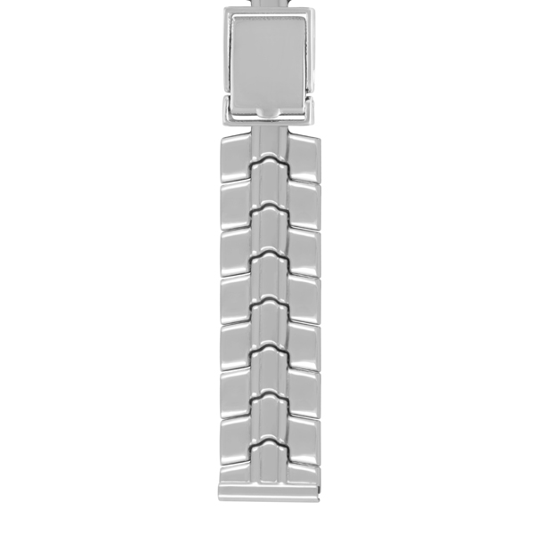 Серебряный браслет для часов (20 мм) Арт.: 042024