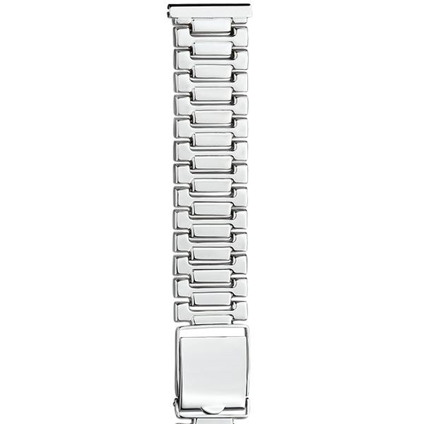 Серебряный браслет для часов (20 мм) Арт.: 042031.20