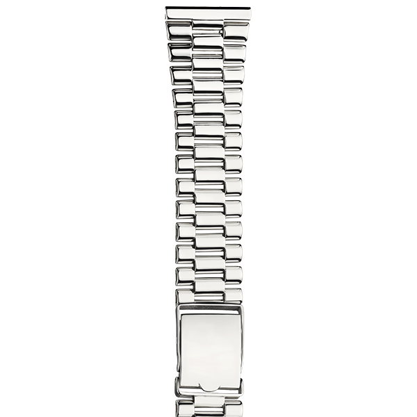 Серебряный браслет для часов (22 мм) Арт.: 042400.22