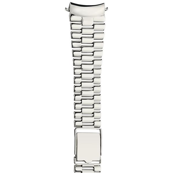 Серебряный браслет для часов (24 мм) Арт.: 042400.24-527