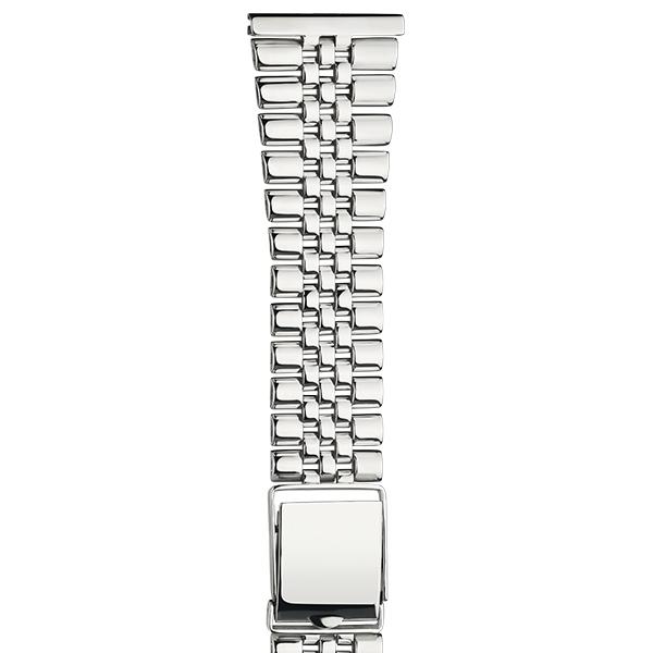 Серебряный браслет для часов (24 мм) Арт.: 042401.24