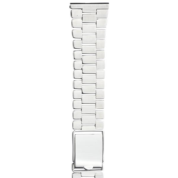 Серебряный браслет для часов (22 мм) Арт.: 042404.22