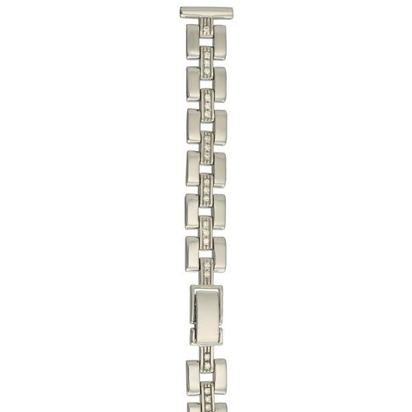 Серебряный браслет для часов (14 мм) Арт.: 046580