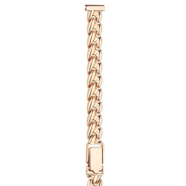 Золотой браслет для часов (8 мм) Арт.: 026