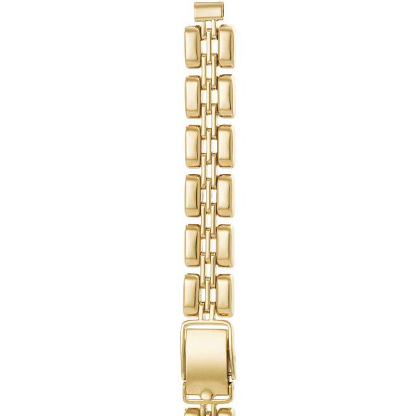 Золотой браслет для часов (6 мм) Арт.: 10187