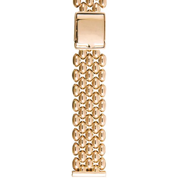 Золотой браслет для часов (20 мм) Арт.: 113
