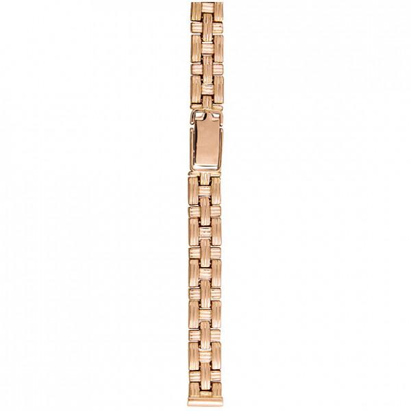 Золотой браслет для часов (10 мм) Арт.: 1337