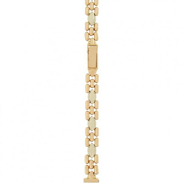 Золотой браслет для часов (10 мм) Арт.: 32079