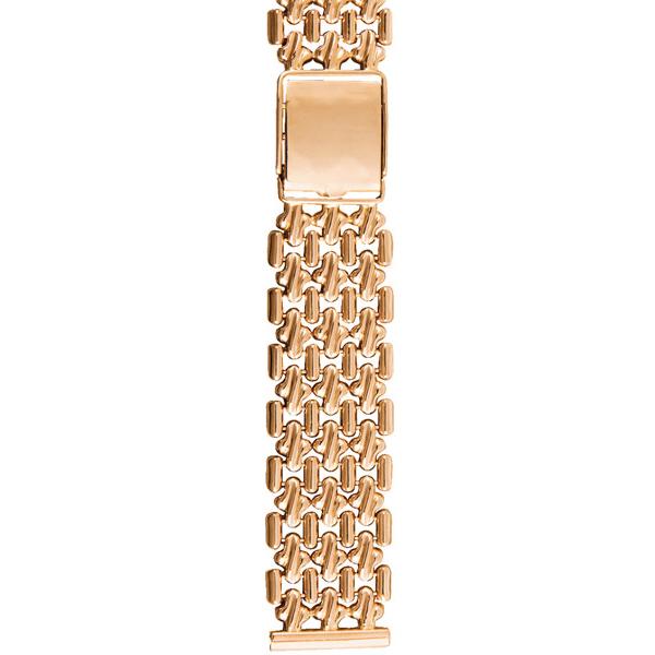 Золотой браслет для часов (20 мм) Арт.: 42002