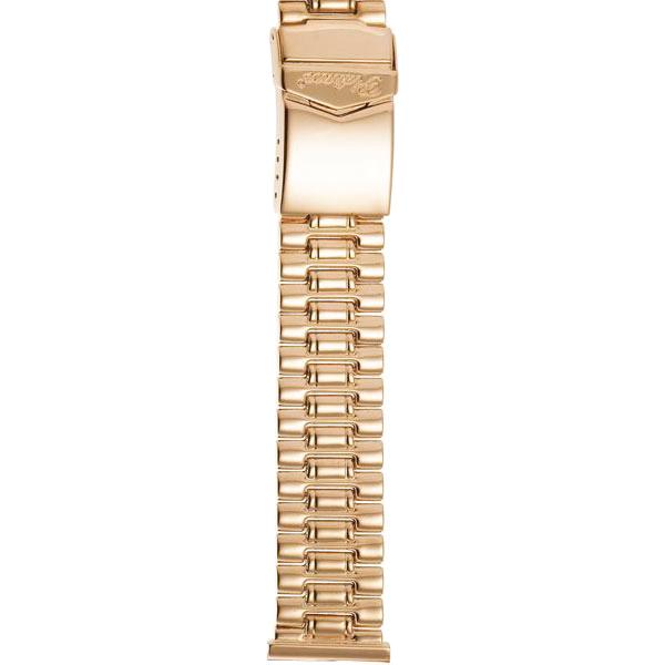 Золотой браслет для часов (20 мм) Арт.: 42012-1