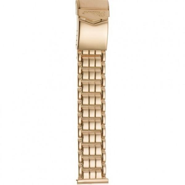 Золотой браслет для часов (20 мм) Арт.: 42014-1