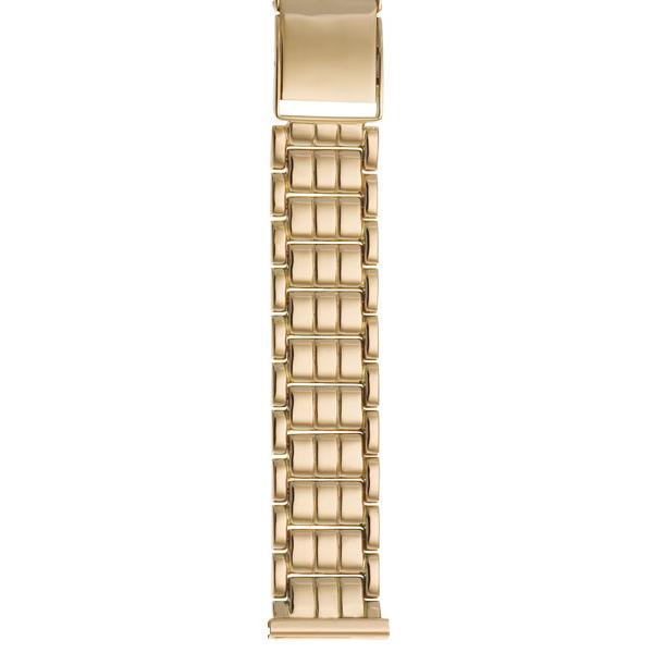 Золотой браслет для часов (20 мм) Арт.: 42014