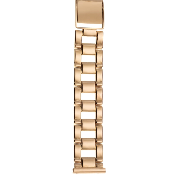 Золотой браслет для часов (20 мм) Арт.: 42018