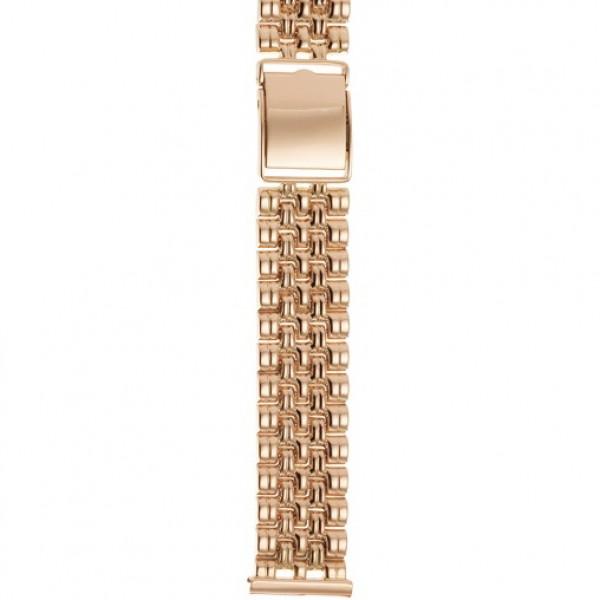 Золотой браслет для часов (20 мм) Арт.: 42023