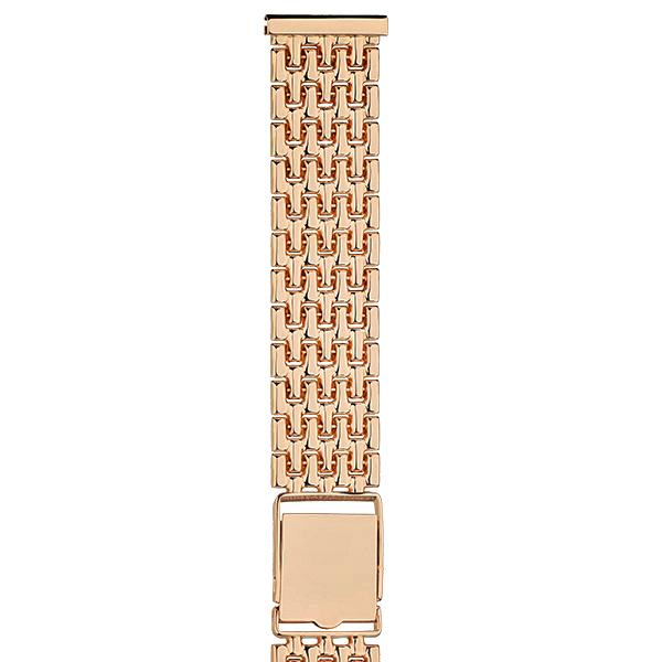 Золотой браслет для часов (20 мм) Арт.: 42030