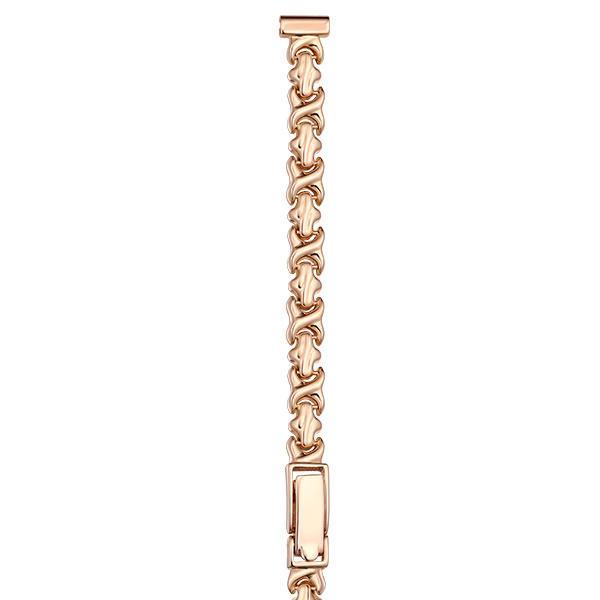 Золотой браслет для часов (8 мм) Арт.: 51003