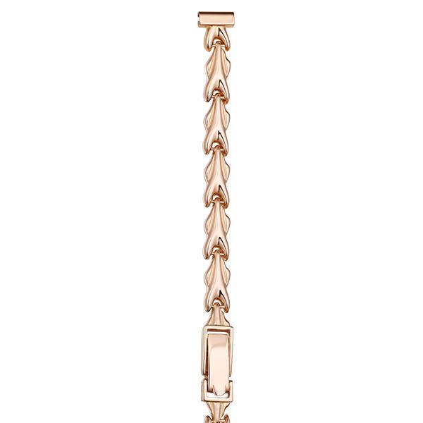 Золотой браслет для часов (8 мм) Арт.: 51050