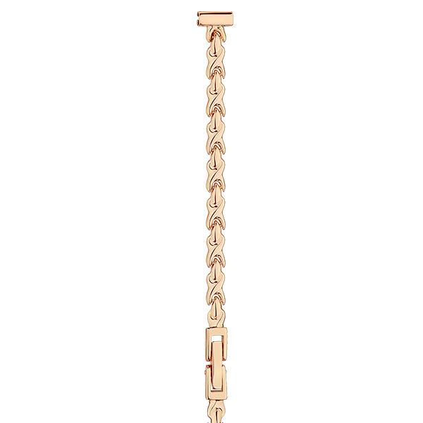 Золотой браслет для часов (8 мм) Арт.: 51057