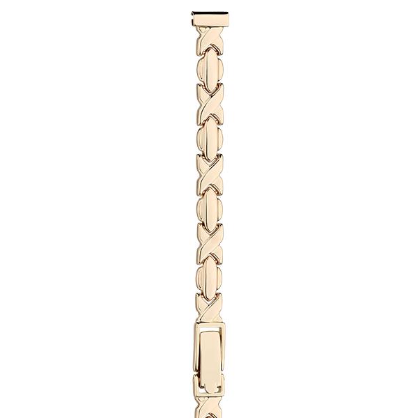 Золотой браслет для часов (8 мм) Арт.: 51064