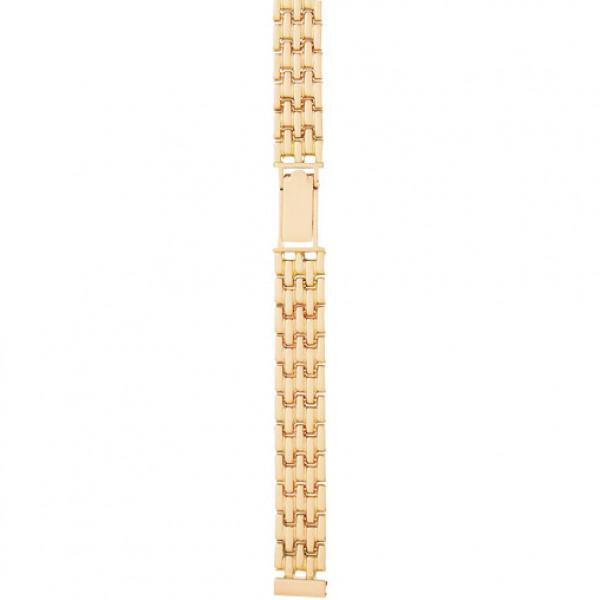 Золотой браслет для часов (10 мм) Арт.: 52011