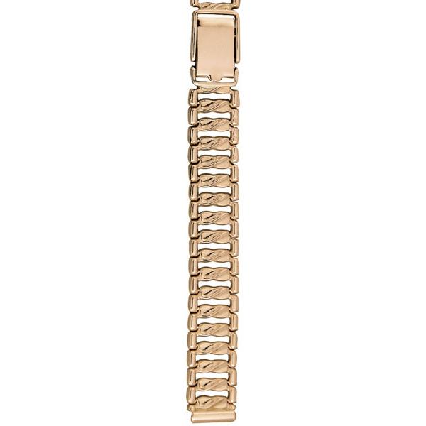 Золотой браслет для часов (10 мм) Арт.: 52013