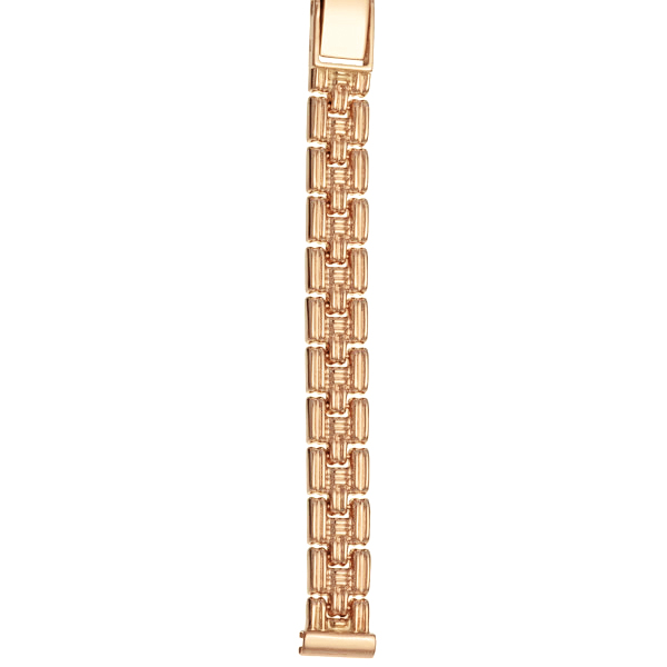 Золотой браслет для часов (10 мм) Арт.: 52254