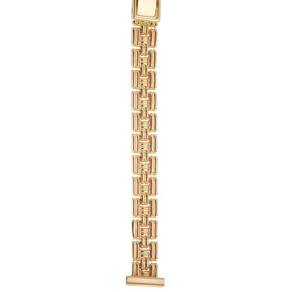 Золотой браслет для часов (12 мм) Арт.: 53254