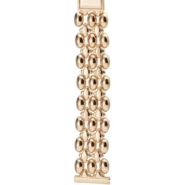Золотой браслет для часов (18 мм) Арт.: 58083