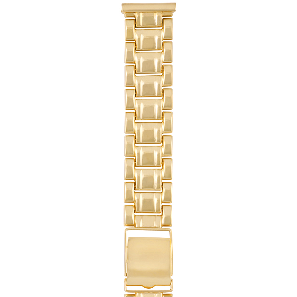 Золотой браслет для часов (20 мм) Арт.: 62010
