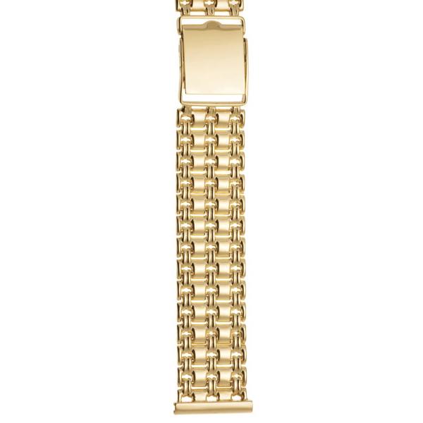 Золотой браслет для часов (20 мм) Арт.: 62011