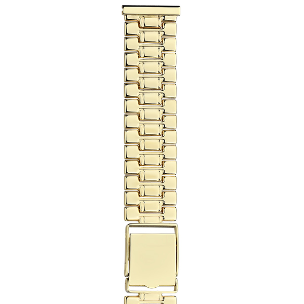 Золотой браслет для часов (20 мм) Арт.: 62012