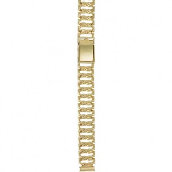 Золотой браслет для часов (10 мм) Арт.: 62013
