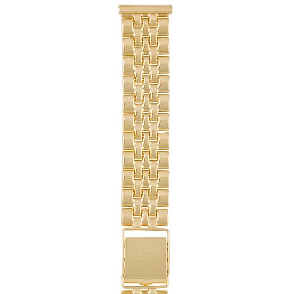 Золотой браслет для часов (20 мм) Арт.: 62016