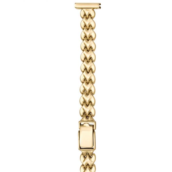 Золотой браслет для часов (14 мм) Арт.: 64207