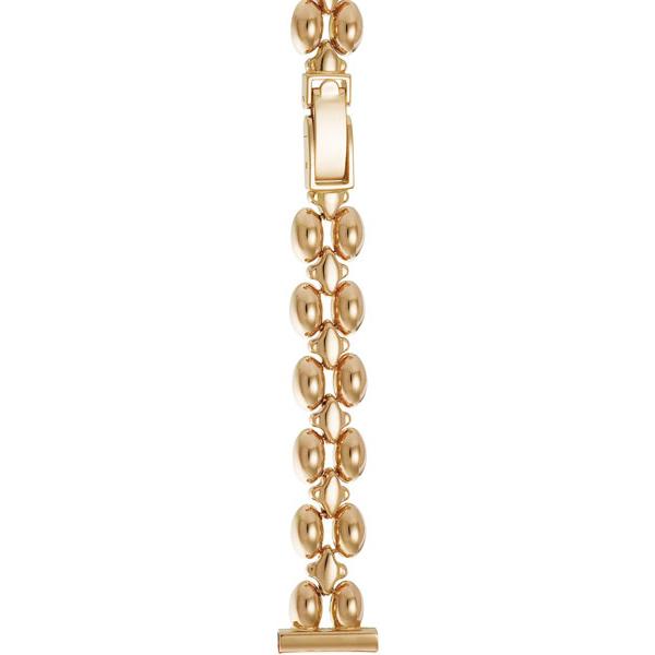 Золотой браслет для часов (14 мм) Арт.: 54081
