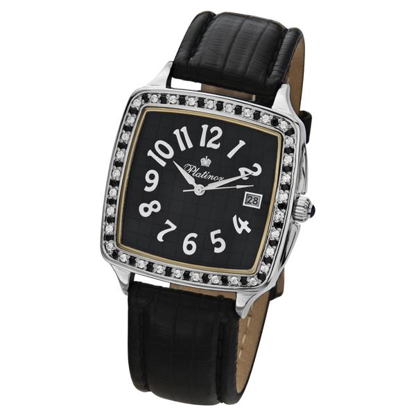Мужские серебряные часы «Вихрь» Арт.: 40406.533