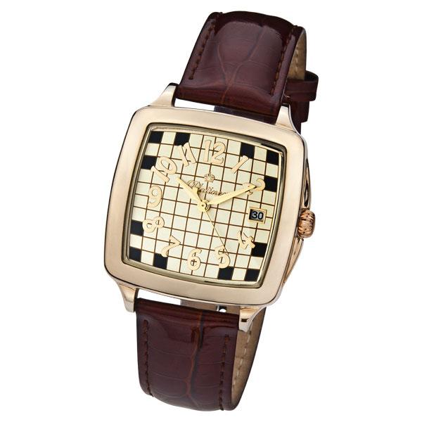 Мужские золотые часы «Вихрь» Арт.: 40450.427