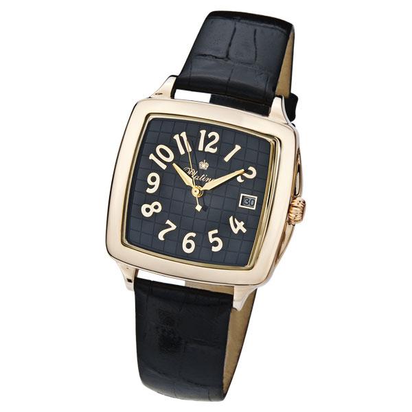 Мужские золотые часы «Вихрь» Арт.: 40450.533